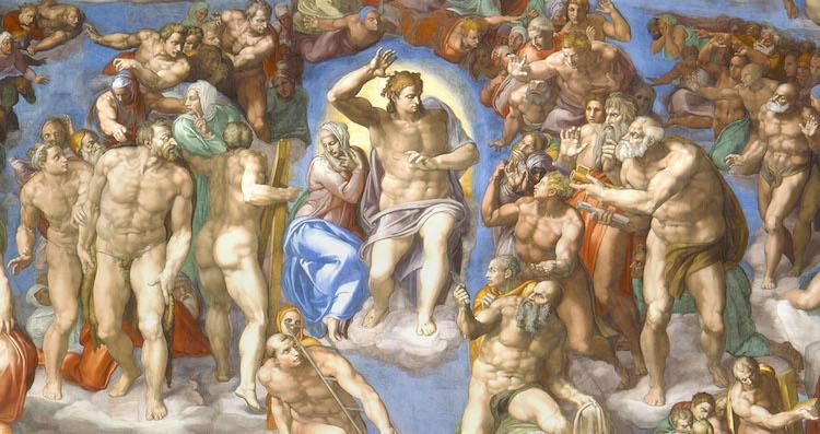 Arte – El Cristo de Miguel Ángel: Del Pantocrator al Democrator