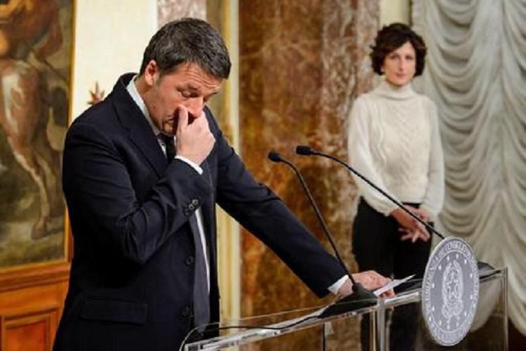 Basta un SI e cambia il governo. Referendum al 60% di NO e Renzi lascia