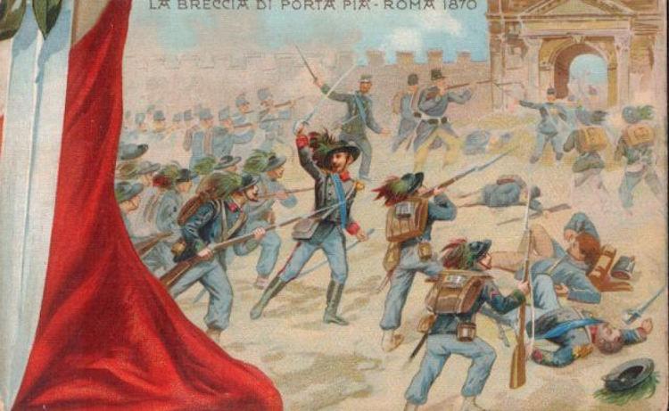 Il Non Expedit e Pio IX dopo la breccia su Porta Pia.