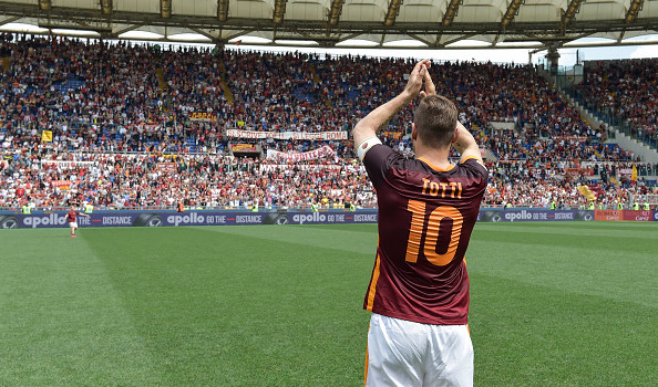 Francesco Totti, la fede, i Papi e la beneficenza.