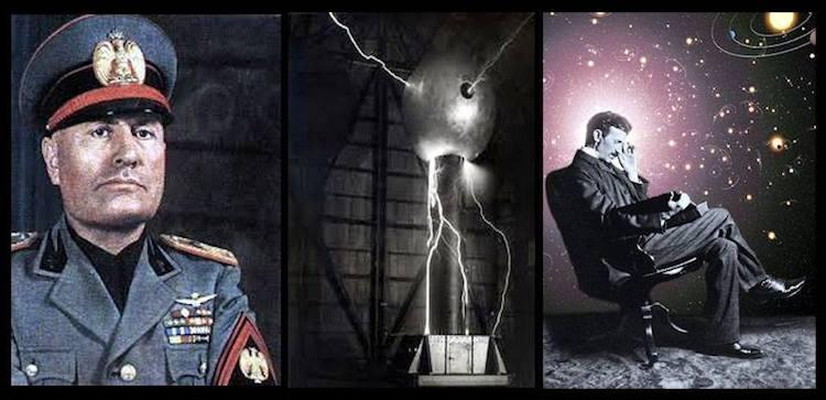 Il raggio della morte e la scienza vibrazionale di Tesla durante il fascismo.
