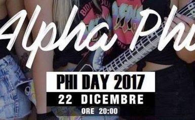 I Filomati indicono il Phi Day