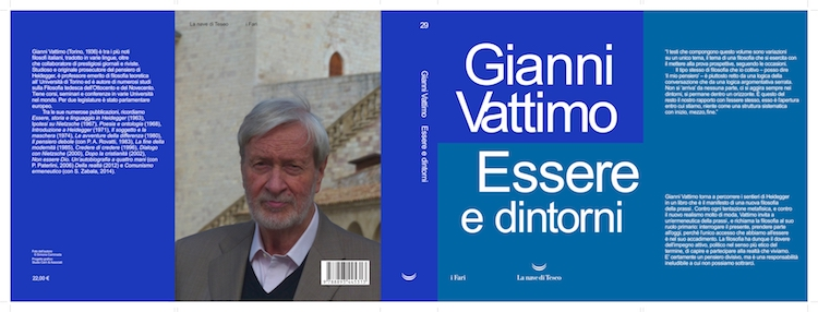 Essere e dintorni, di Gianni Vattimo.  Giorno 22 06 2018 – Presentazione al Circolo dei Lettori.