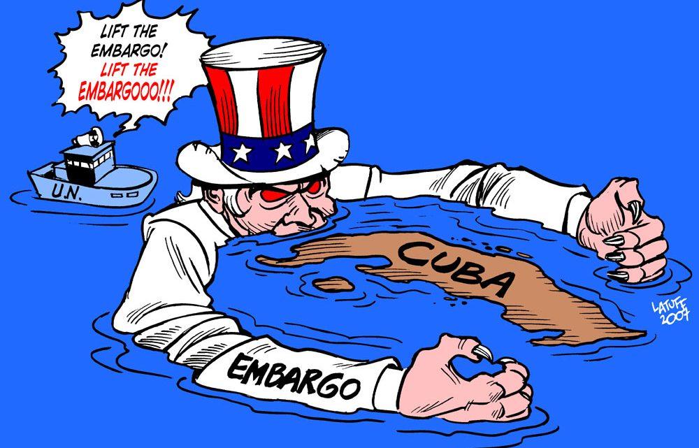 Cuba vince all'ONU. Fine del blocco USA e della guerra fredda