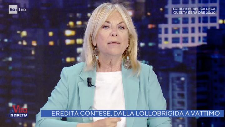 La vita in diretta – Vattimo & Lollobrigida, patrimoni e destini.